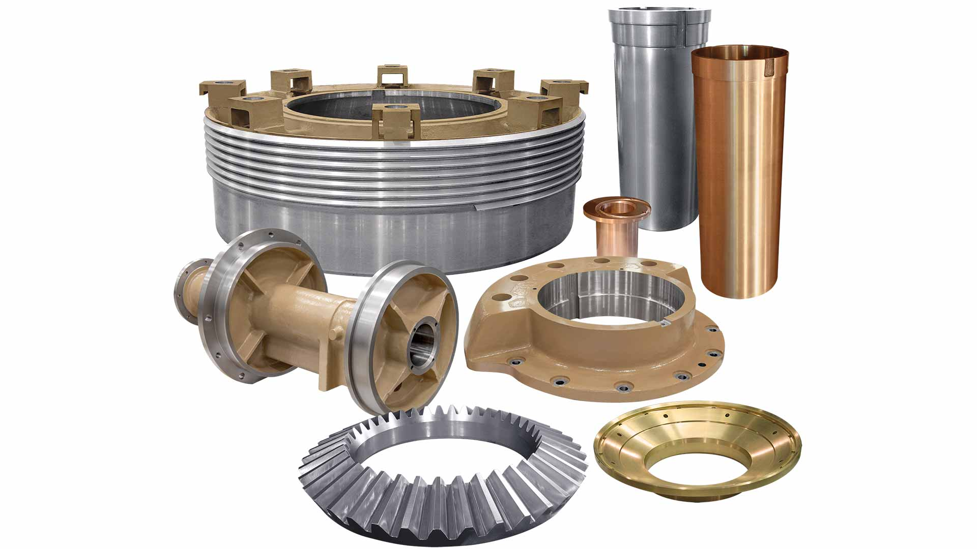 EXCEL Spare parts for Symons-Cone-Crushers